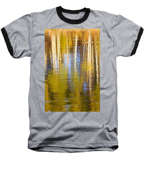 Baseball T-Shirt featuring the photograph Aspen Reflection by Kevin Desrosiers