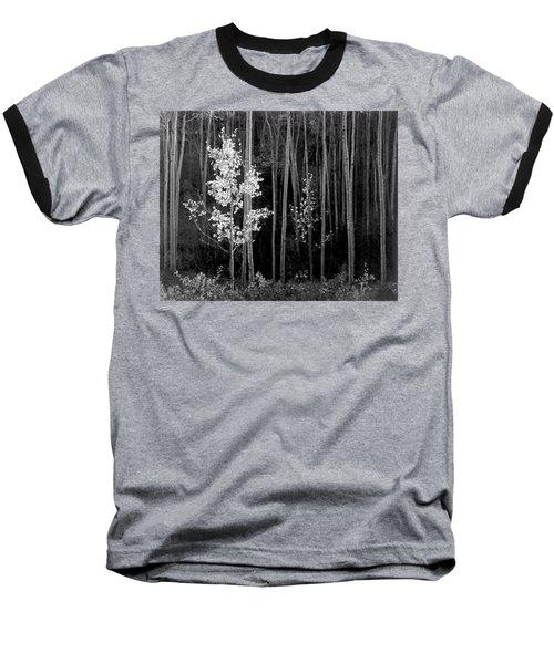 Aspens Northern New Mexico Baseball T-Shirt by Ansel Adams