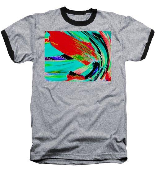 Aspidistra Twista Baseball T-Shirt by Stephanie Grant