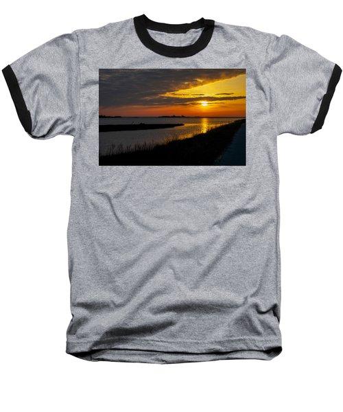 Assateague Sunrise Baseball T-Shirt
