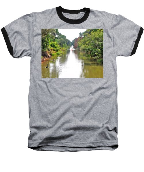 Assawoman Canal - Delaware Baseball T-Shirt