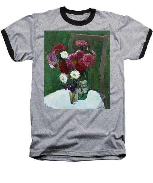 Asters In The First Frosts Baseball T-Shirt