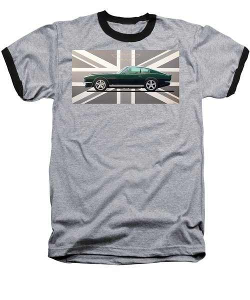 Aston Martin V8 Vantage Baseball T-Shirt