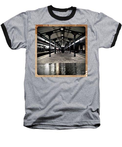 Baseball T-Shirt featuring the photograph Astoria Boulevard by James Aiken