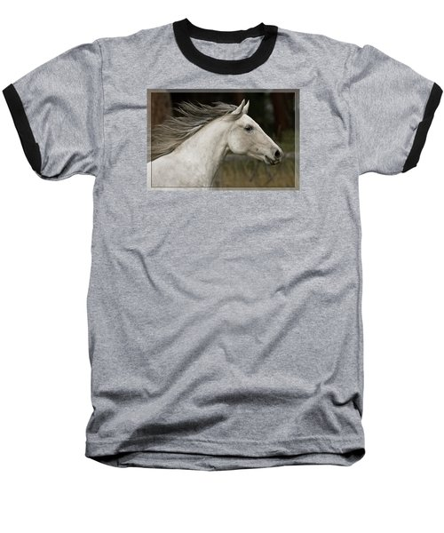 At A Full Gallop Baseball T-Shirt by Wes and Dotty Weber
