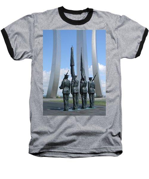At Attention Baseball T-Shirt