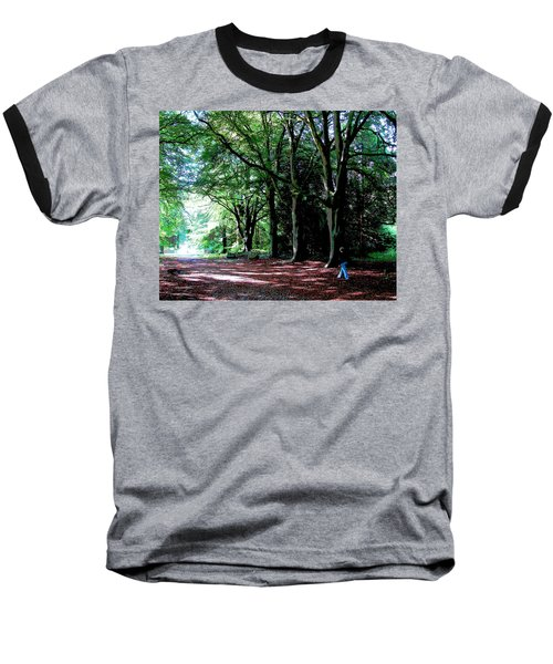 Baseball T-Shirt featuring the photograph At Peace With Nature by Charlie Brock