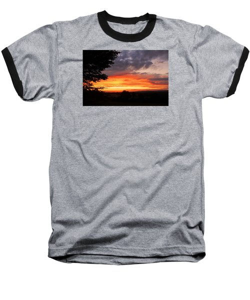 Baseball T-Shirt featuring the photograph At The End Of The Day ... by Juergen Weiss