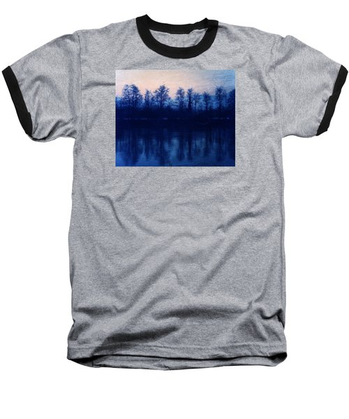 At The End Of The Day Baseball T-Shirt by Vittorio Chiampan