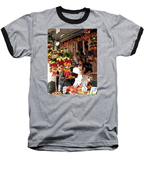 At The Market Baseball T-Shirt