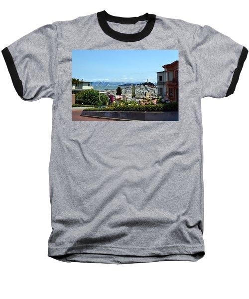 At The Top - Lombard Street Baseball T-Shirt
