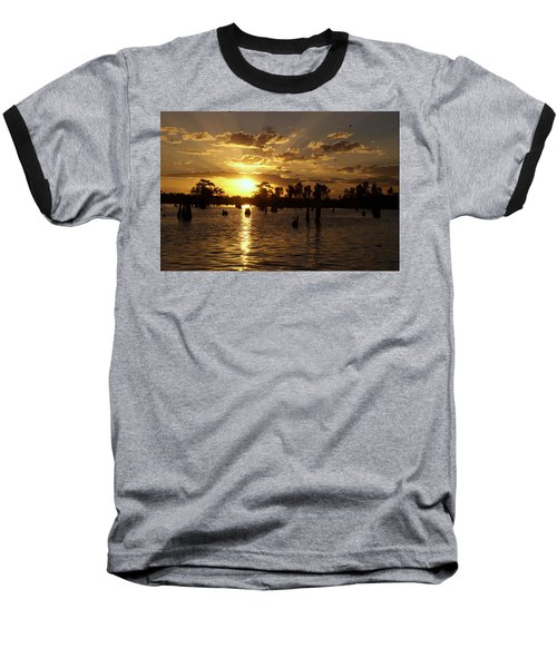 Atchafalaya Sunrise Baseball T-Shirt