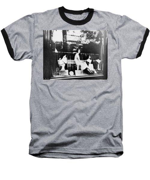 Baseball T-Shirt featuring the photograph Atget Hairdresser, C1920 by Granger