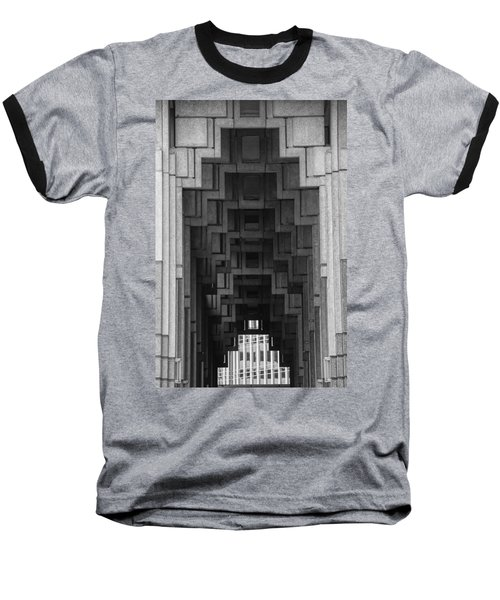Atlanta Ga Architecture-city Building Baseball T-Shirt by Douglas Barnard
