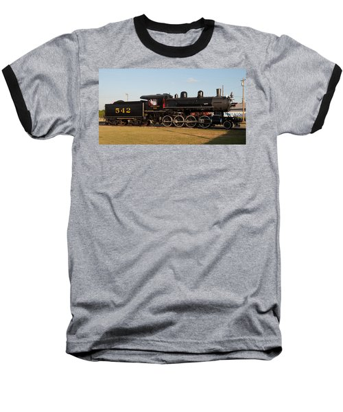 Atlantic And Western 2-8-0 #542 Spencer North Carolina Baseball T-Shirt