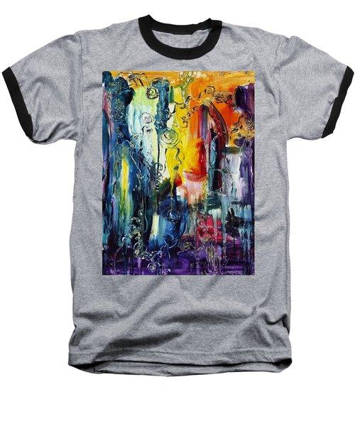 Atlantis Sinking Baseball T-Shirt
