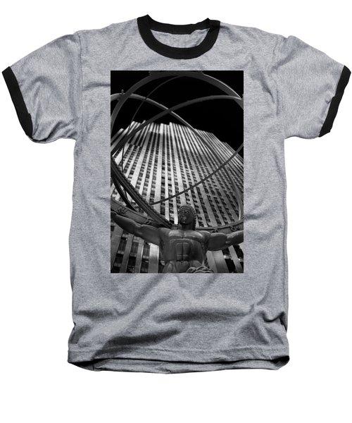 Atlas Rockefeller Center Baseball T-Shirt