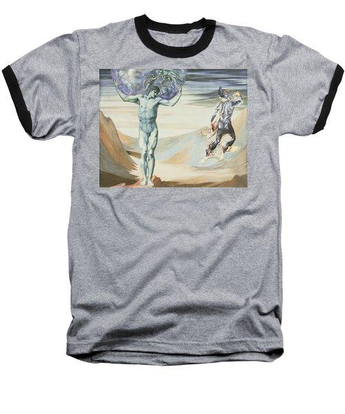 Atlas Turned To Stone, C.1876 Baseball T-Shirt