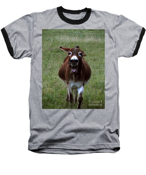 Baseball T-Shirt featuring the photograph Attack by Peter Piatt