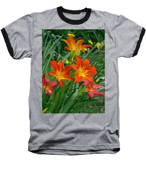 Lilies Galore Baseball T-Shirt