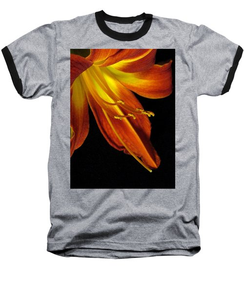 August Flame Glory Baseball T-Shirt