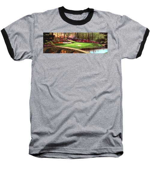 Augustas 12 Hole 28x9 Baseball T-Shirt by Tim Gilliland