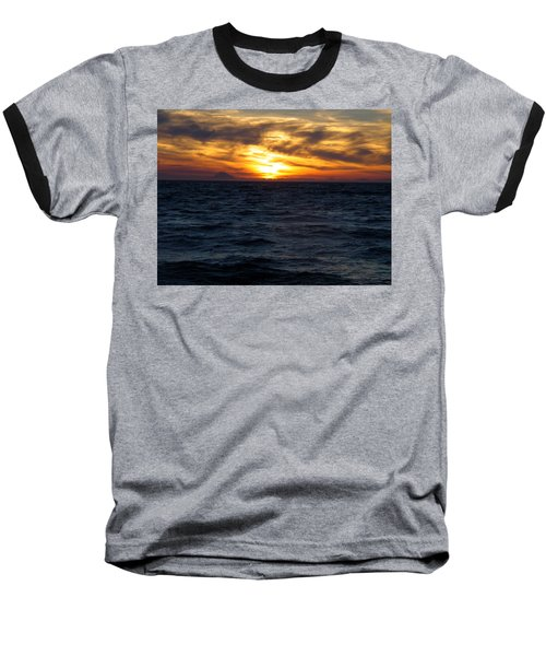 Baseball T-Shirt featuring the photograph Augustine Sleeps by Jeremy Rhoades