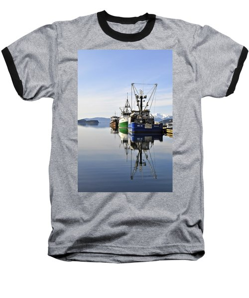 Auke Bay Reflection Baseball T-Shirt