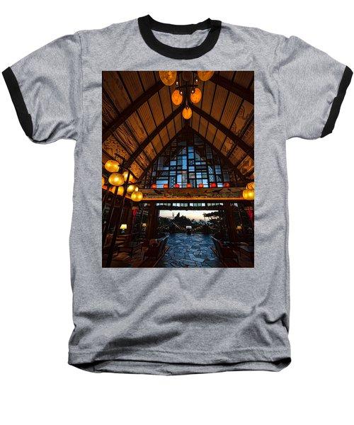 Aulani Lobby Baseball T-Shirt