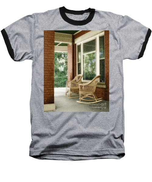 Aunt Jane's Porch Baseball T-Shirt