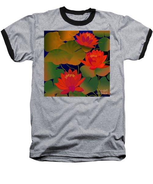 Aura Baseball T-Shirt by Latha Gokuldas Panicker