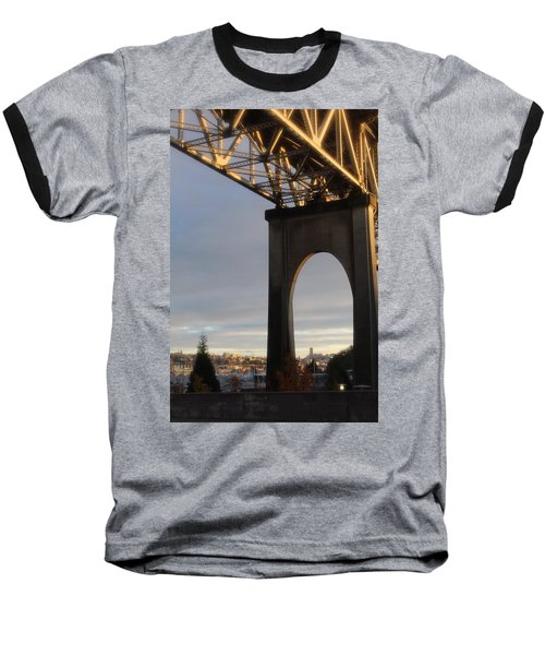 Aurora Bridge Seattle Washington  Baseball T-Shirt