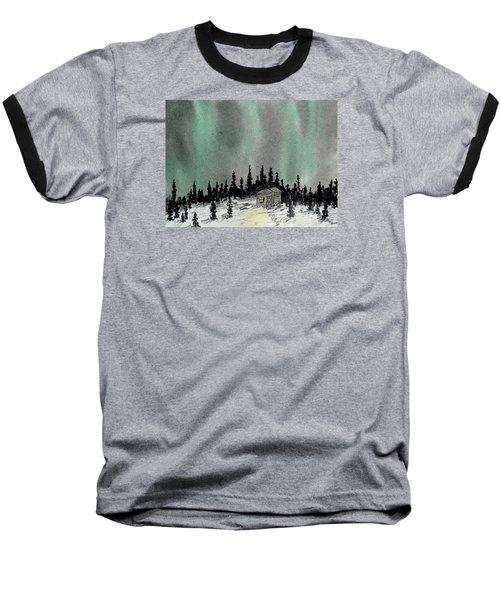 Aurora Magic - Dance Of The Lights Baseball T-Shirt by R Kyllo