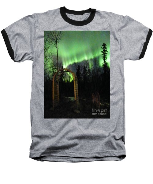 Auroral Arch Baseball T-Shirt by Brian Boyle