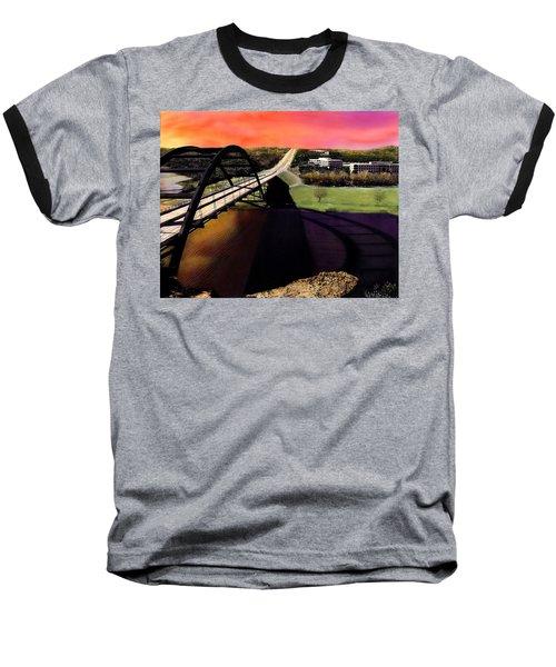 Austin 360 Bridge Baseball T-Shirt