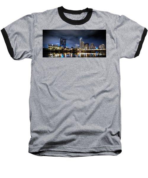 Austin Skyline Hdr Baseball T-Shirt