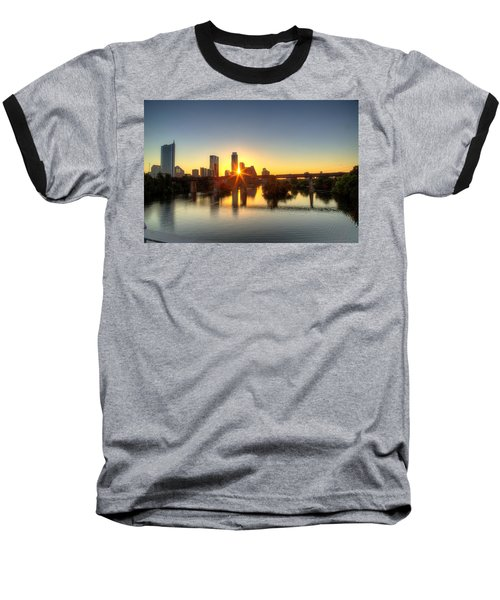 Austin Sunrise Baseball T-Shirt