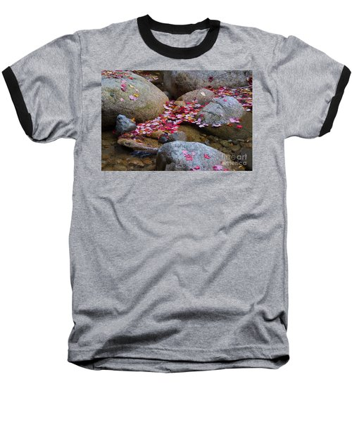 Autmun Leaves Baseball T-Shirt