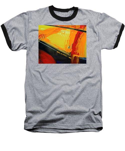 Abstract Composition No 2 Baseball T-Shirt