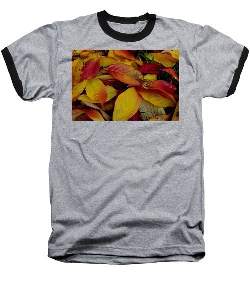 Baseball T-Shirt featuring the photograph Autum by Barbara Walsh