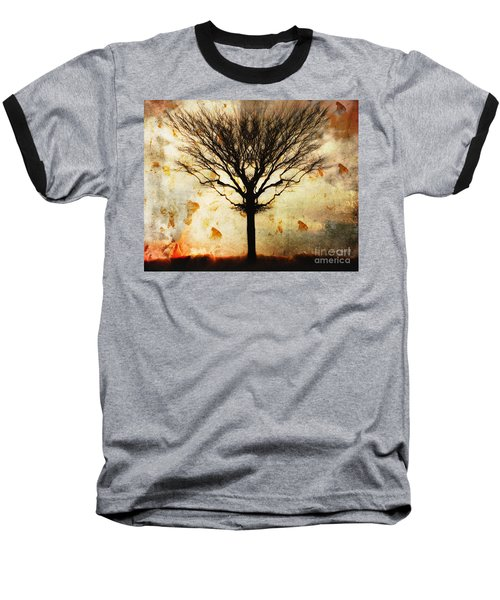 Autum Wind Baseball T-Shirt