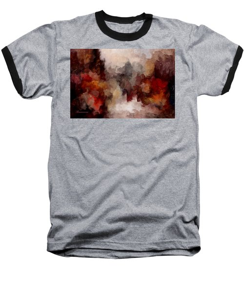 Autumn Abstract Baseball T-Shirt