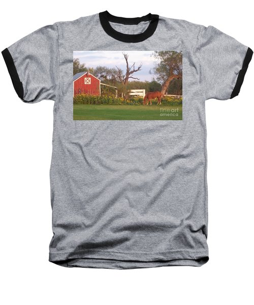 Autumn Abundance Baseball T-Shirt by Susan Williams