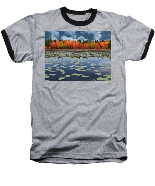 Autumn Across The Pond Baseball T-Shirt