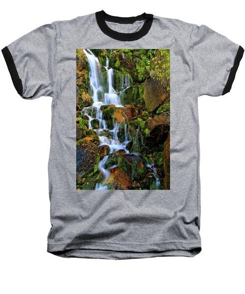 Autumn Along Summit Creek Baseball T-Shirt