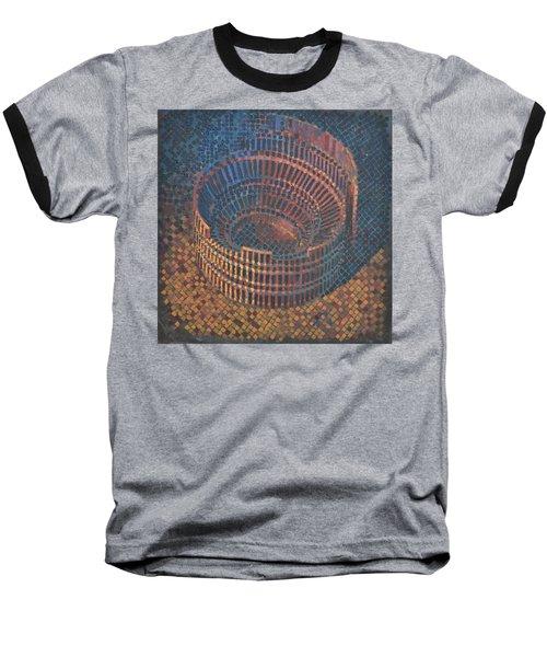 Autumn Amphitheatre Baseball T-Shirt by Mark Jones
