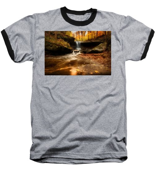 Autumn At Blue Hen Falls Baseball T-Shirt