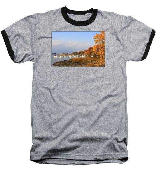 Autumn At Cold Spring Harbor Baseball T-Shirt