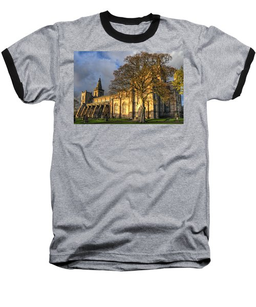 Autumn At Dunfermline Abbey Baseball T-Shirt