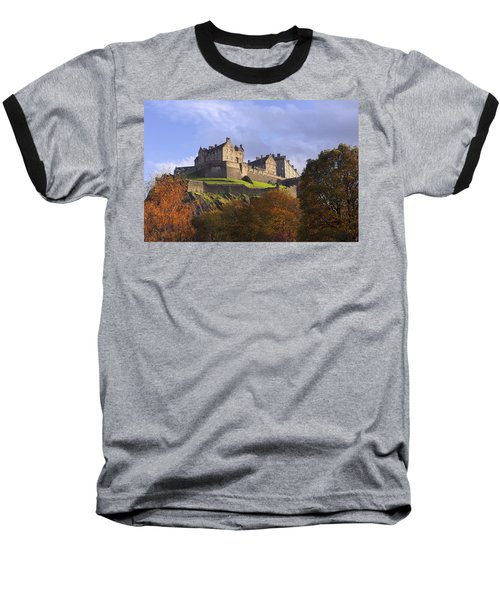 Autumn At Edinburgh Castle Baseball T-Shirt